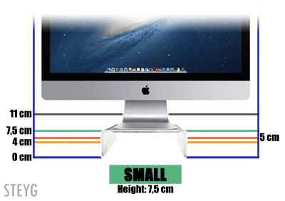 STEYG iMac monitor stand Small