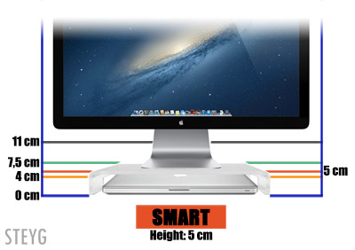 STEYG iMac monitor stand Smart